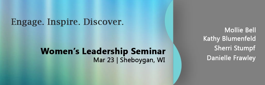 Register for the 2016 Women's Leadership Seminar