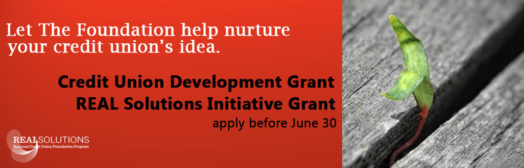 Apply for the Credit Union Development & REAL Solutions Grants