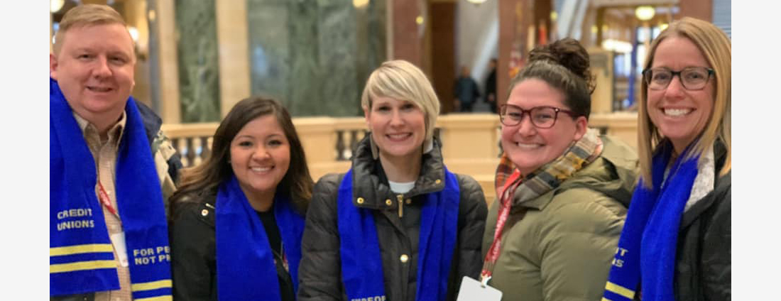 Over 300 Credit Union Activists Visit State Capitol