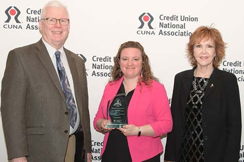Altra Federal Credit Union received a national-level award in Washington, D.C.