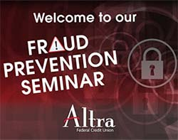 Altra Federal hosted fraud seminars