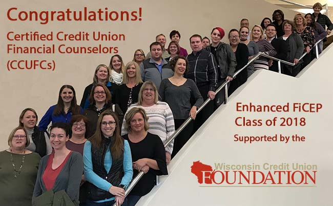 Congratulations, Certified Credit Union Financial Counselors!