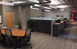New main work space on the 4th floor