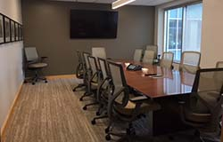 The new Leauge Board Room
